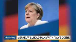 News video: Germany's Merkel at Risk as Coalition Crisis Enters Critical Phase