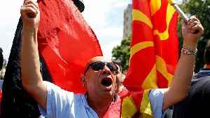 Macedonia name change deal with Greece leads to violent protests