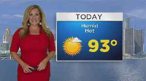 News video: First Forecast This Morning-Monday June 18, 2018