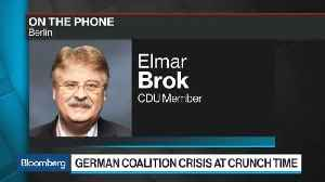 News video: CDU Lawmaker Brok Says Merkel Will Survive Migration Standoff