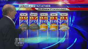 News video: Marty Bass Monday Morning Weather
