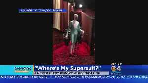 News video: Trending: Frozone Shows Up At Screening For