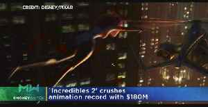News video: 'Incredibles 2' Crushes Animation Record With $180M Opening