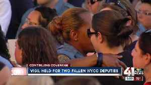 News video: Fallen WyCo deputies memorialized at vigil
