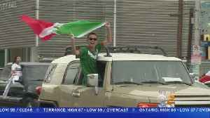 News video: Rowdy Celebrations Follow Mexico's World Cup Win Over Germany