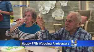 Happy 77th Wedding Anniversary To Ruth And Roy!