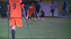 Playing football brings hope to amputees in Gaza [Video]