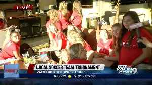 News video: Local girls soccer team returns from regionals, watch World Cup game