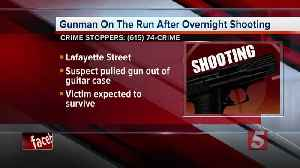News video: Nashville Shooting: Gunman Pulls Shotgun From Guitar Case