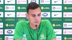 News video: Australia won respect after 'tango' with France, says Sainsbury