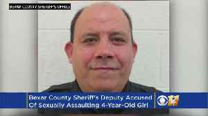 News video: Sheriff: Texas Deputy Sexually Abused 4-Year-Old Undocumented Immigrant
