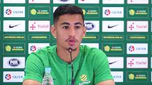 The World Cup's youngest player Arzani looks for a spot in the Socceroos starting XI [Video]