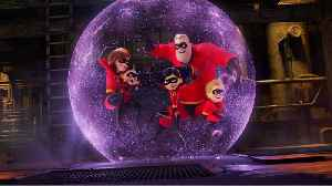 News video: Seizure Warning Issued For Incredibles 2