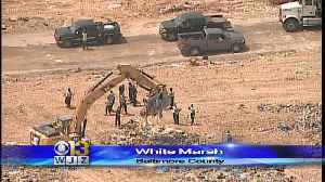 News video: Police Searching Landfill For Evidence After Body Found On Bleachers