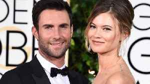 News video: Adam Levine and Behati Prinsloo shared the first-ever pic of their new baby's face