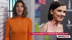 News video: Millie Bobby Brown SKIPS 2018 MTV Movie & TV Awards For Painful Reason