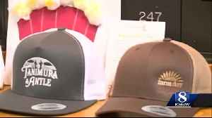 News video: Kids deliver caps and cards to elderly dads for Father's Day