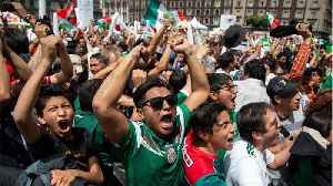 News video: Soccer Fans Cause Earthquake In Mexico City