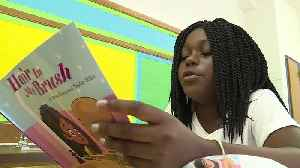 News video: Elementary School Student Writes Book About Living with Alopecia