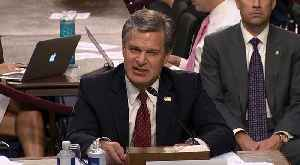 News video: Senate Judiciary Committee Questions FBI Director Chris Wray On Clinton Email Report