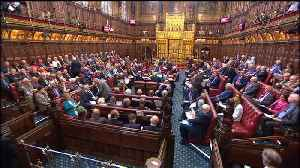 News video: Lords reject May's proposal for