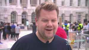 News video: James Corden Takes The Late Late Show To London