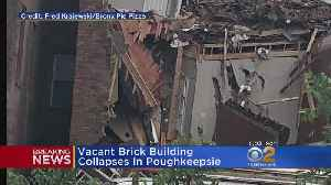 News video: Vacant Building Collapses In Poughkeepsie