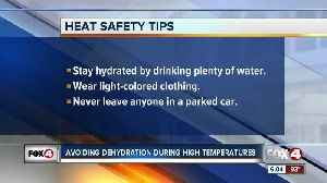 News video: Heat safety reminders
