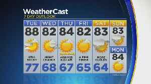 News video: Temps Hover In The 80s Through The Week