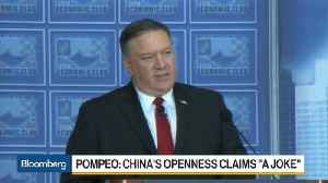 News video: Pompeo Calls Chinese Appeals for Greater Trade Openness a 'Joke'