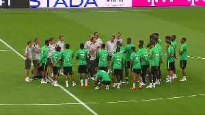 News video: Saudi players safe in Rostov hotel after airplane engine fault
