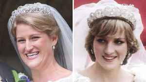 News video: Princess Diana's Wedding Day Tiara Just Made Its First Public Appearance Since Her Death
