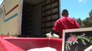 News video: Organization collects trucks full of items thrown out by UCSD students