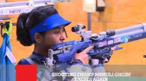 News video: Shooting Champ Mehuli Ghosh Excels Again