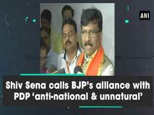 Shiv Sena calls BJP's alliance with PDP 'anti-national & unnatural' [Video]