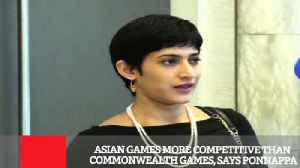 News video: Asian Games More Competitive Than Commonwealth Games, Says Ponnappa