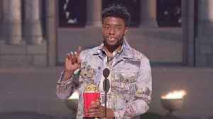 Heroes, on screen and off, honoured at MTV Awards show