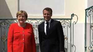 """News video: Merkel and Macron meet in """"moment of truth"""" for Europe"""