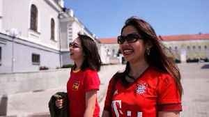 News video: Asian World Cup tourists feel the love for Spain