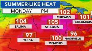 Heat wave sweeps across United States
