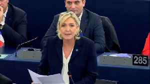 Le Pen ordered to repay €300,000 to European Parliament [Video]