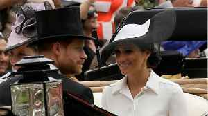 Meghan and Harry Attend Royal Ascot with the Queen [Video]