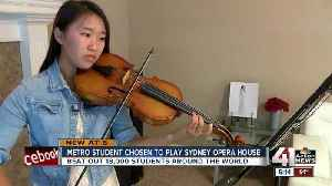 News video: Lee's Summit West students travel to Australia