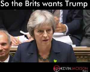 News video: Do the Brits want Trump?
