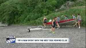 News video: West Side Rowing Club launches national competitors