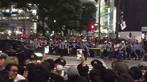 News video: Jubilant Soccer Fans Celebrate Japan's World Cup Opening Win in Tokyo