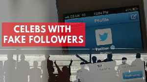 News video: Celebrities Who Have Purchased Fake Social Media Followers