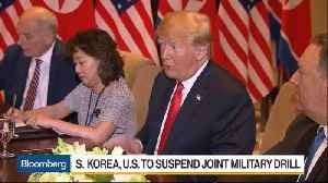 News video: U.S., South Korea Suspend Joint Military Drill Planned for August