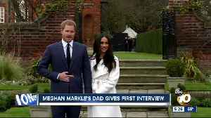 News video: Meghan Markle's dad gives first interview