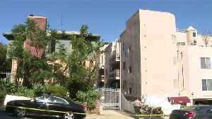 News video: Investigators Trying to Determine if Man Fell or Was Pushed Out of West Hollywood Apartment